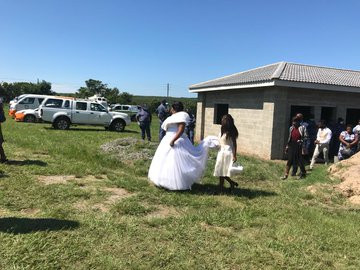 Couple, Priest And Guests Arrested For Violating Total Lockdown order In South Africa (Photos/videos)