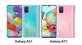 perbedaan samsung galaxy a51 an a71