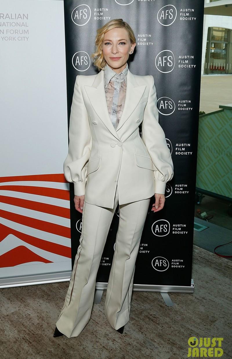 Cate Blanchett e os seus looks perfeitos para trabalhar