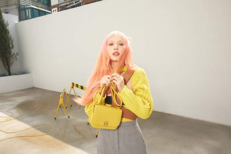 HyunA announced as new LOEWE global ambassador.