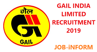 GAIL (India) Limited Recruitment 2019 | TOTAL 176 Sr Engineer, Sr Officer & Various Vacancy | APPLY ONLINE