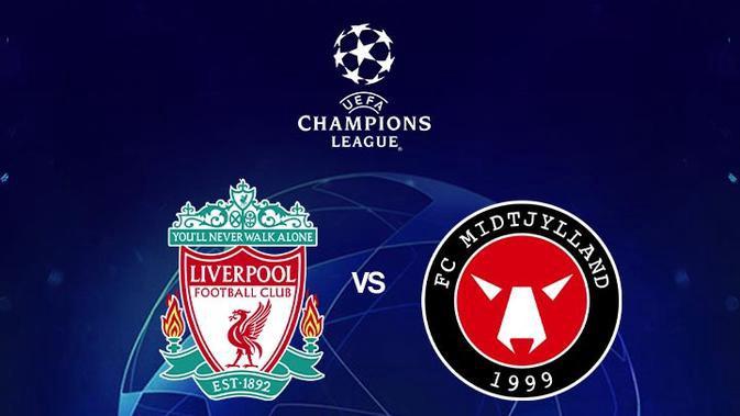 بث مباشر مباراة ليفربول وميدتييلاند