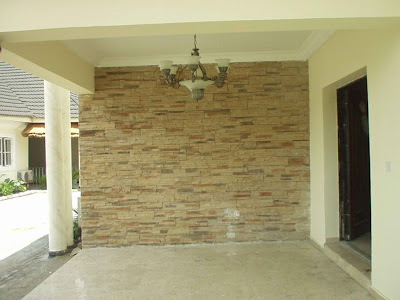 stone facing for wall