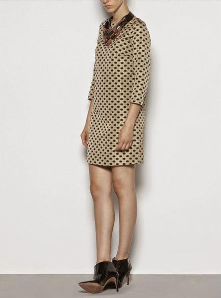 Vestido recto ligero estampado