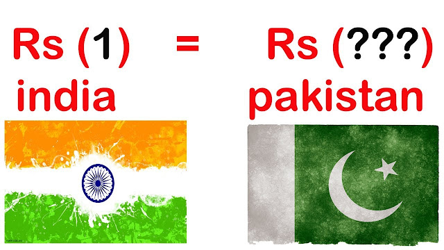 Indian currency against pakistani currency