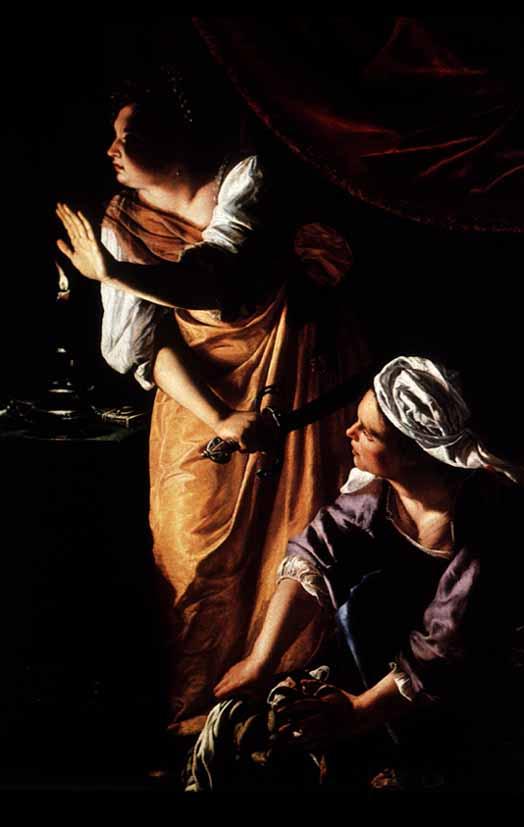 Judith slaying holfernes