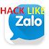Hack like zalo , Hướng dẫn cách hack like zalo mới nhất