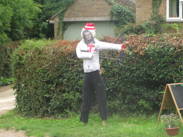 Olympic Scarecrow