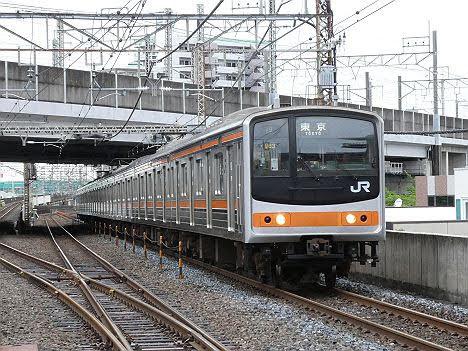 【既に引退!】205系メルヘン顔の武蔵野線 東京行き