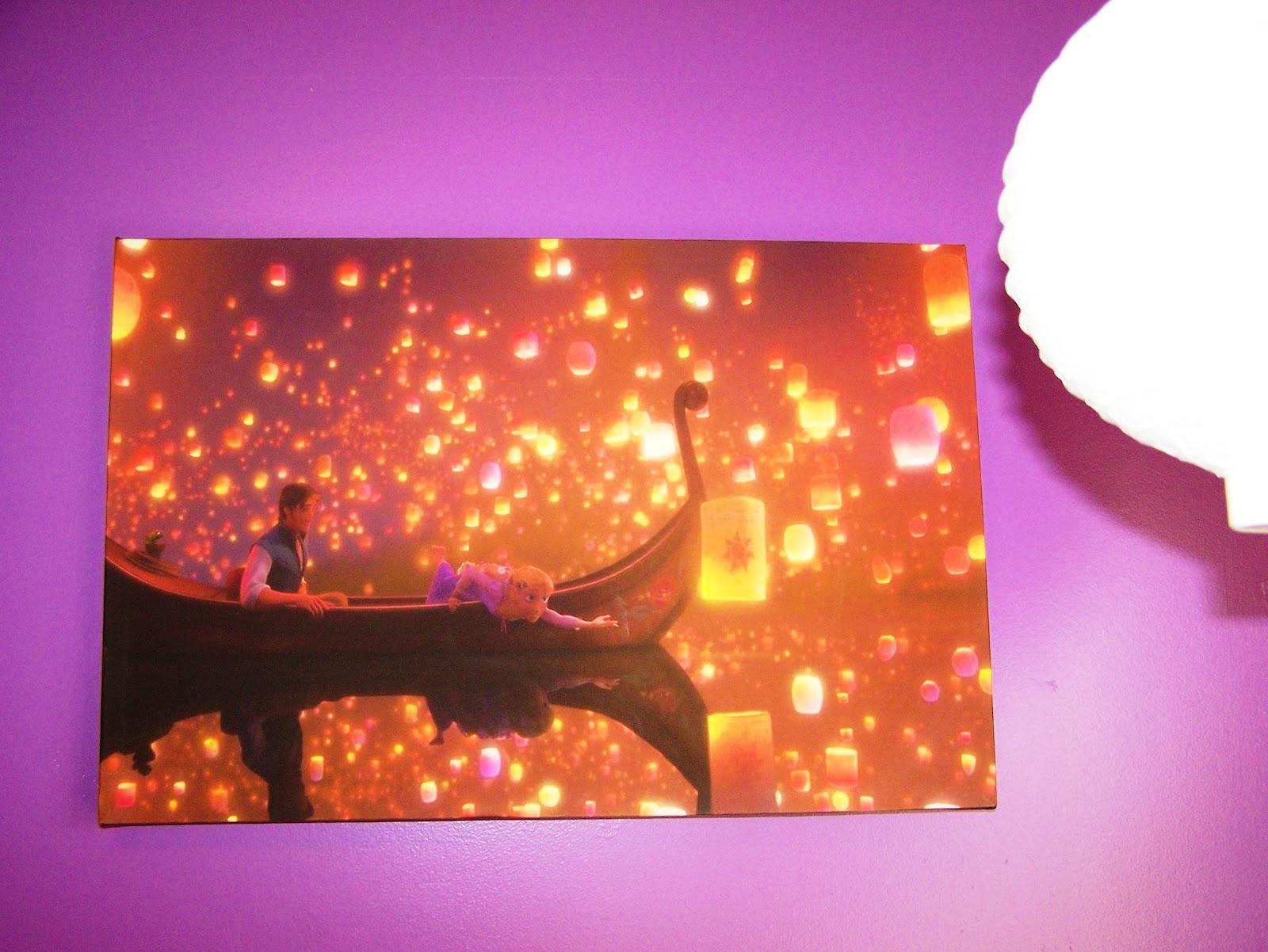 Grandma Bonnie's Closet: Decorating a Tangled (Rapunzel ...