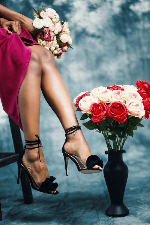 why do men love a woman on heels?