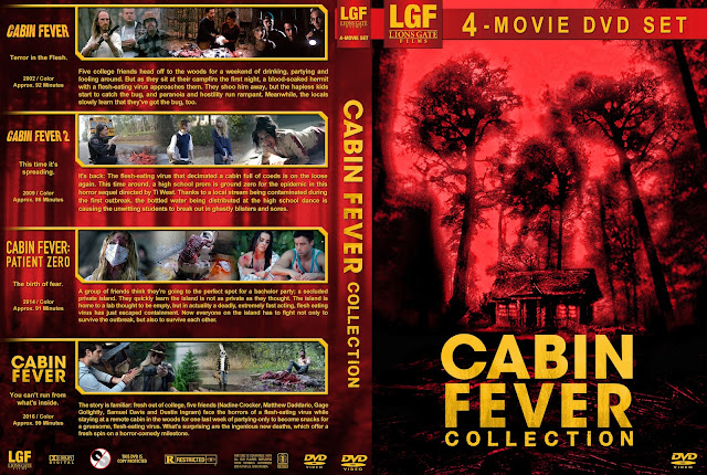 Cabin Fever Collection DVD Cover