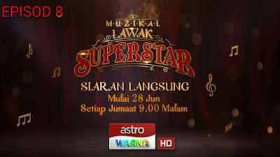Live Streaming Muzikal Lawak Superstar 2019 Minggu 8