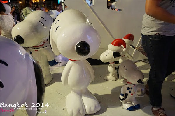 Snoopy Central World + BIG C Market @ Bangkok, Thailand
