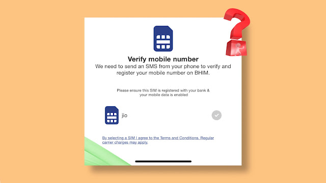 Fix BHIM app stuck at verify mobile number on iPhone