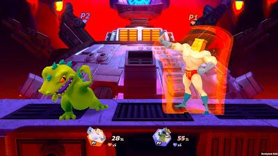 Nickelodeon All Star Brawl Game Screenshot 2