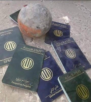"""Rusuh di Kantor Kedutaan Republik Iran di Basrah, Tertinggal """"Pasport Surga"""" dan """"Asuransi Illahi"""""""