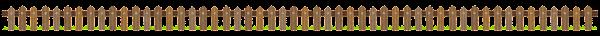 木の柵のライン素材