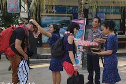 Disambut Gendang Beleq, Peserta APGN 2019 Mengaku Takjub dengan Lombok