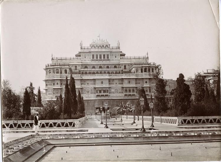 Jaipur Palace - Rajasthan c1890's