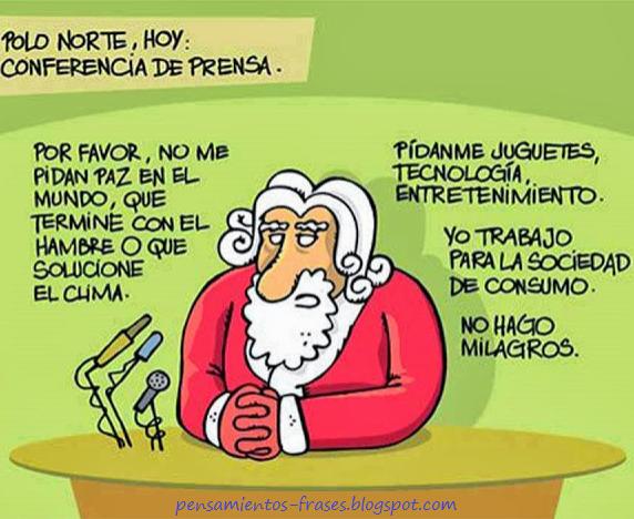 Fotos Simpaticas De Papa Noel.Imagenes Graciosas De Papa Noel