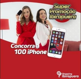 Promoção Dia das Mães 2021 Ibirapuera Shopping 100 iPhones