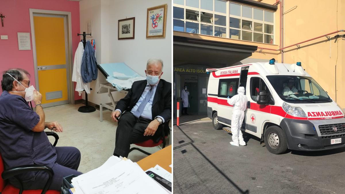 lettera ringraziamento ospedale Cannizzaro G20 variante Delta