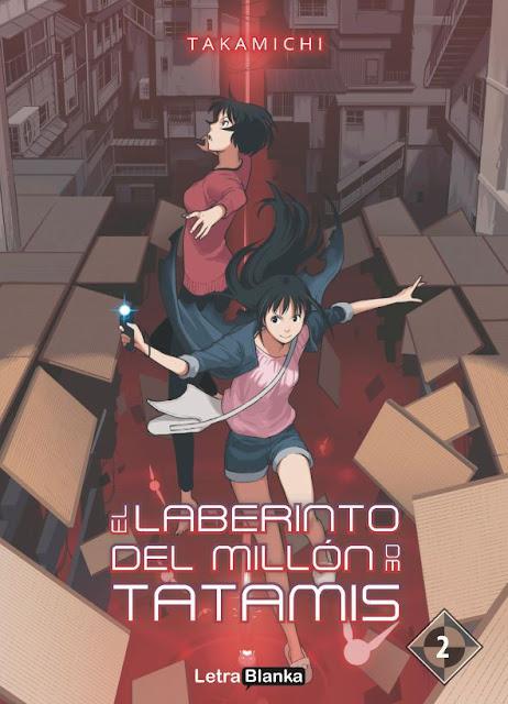 """Reseña de """"El laberinto del millón de tatamis"""" (Hyakumanjo Labyrinth) vol.2 de Takamichi"""