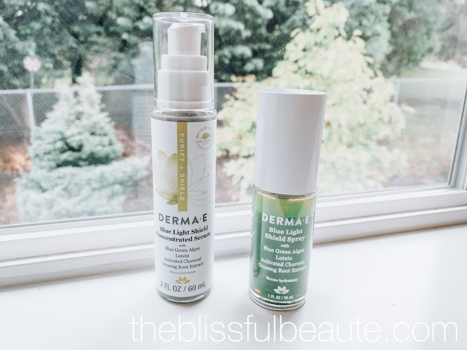Derma E Blue Light Shield Spray and Concentrated Serum | Review