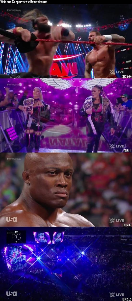 WWE Monday Night Raw 19 July 2021 HDTV 720p 480p 500MB