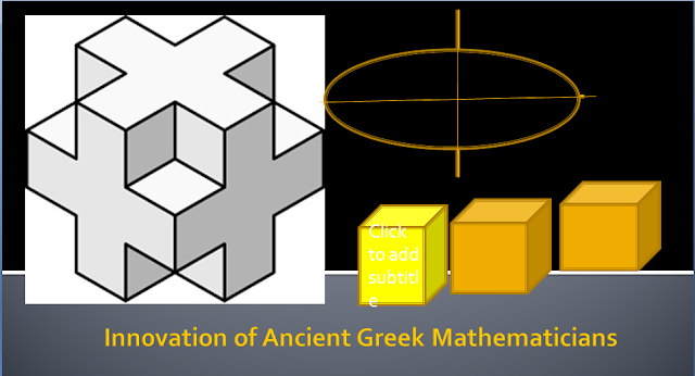 Ancient Greek Mathematicians and the Modern world