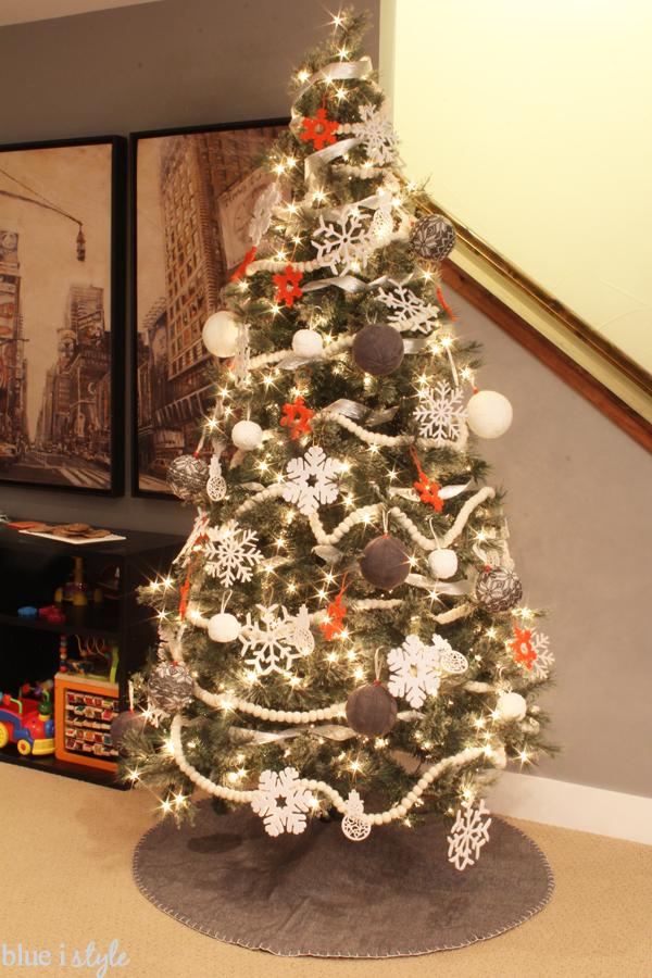 Soft Christmas Tree Ornaments