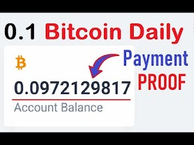 Unbelievable Opportunity to Earn Free Bitcoin Zero Investment+Payment Proof