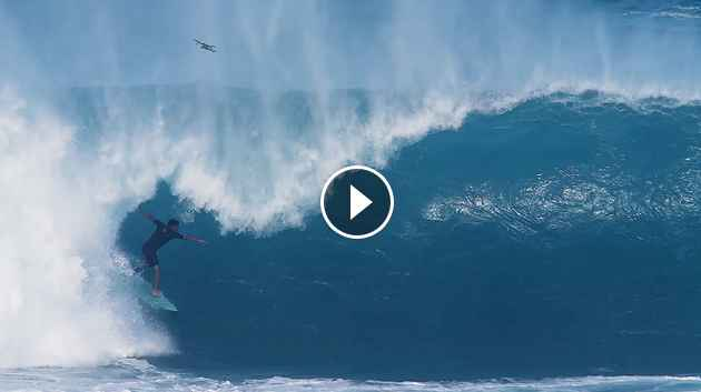 Menacing Lefts at Pipe and Mavericks Spar for Top Honors Clips of the Month December