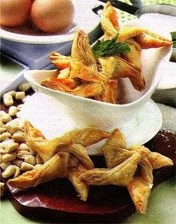 Resep Kue Puff Pastry / Grem Isi Kacang