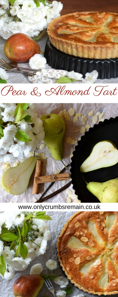 How to make a classic pear tart with frangipane filling