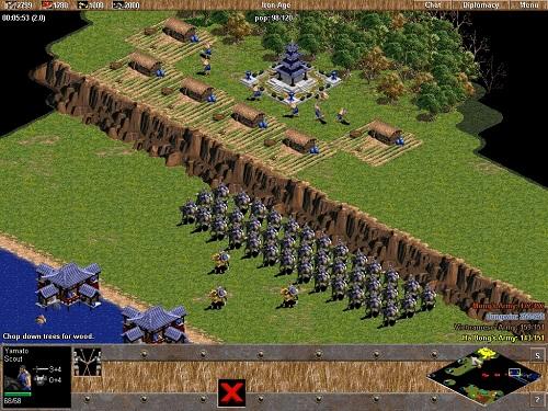 Phân tích điểm mạnh/yếu của kẻ thù là rất cần trong vòng Age of Empires