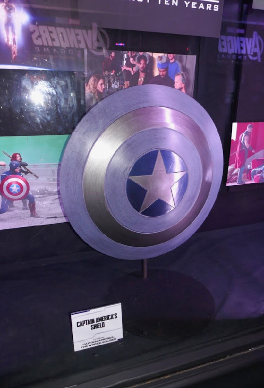 Captain America Winter Soldier shield prop
