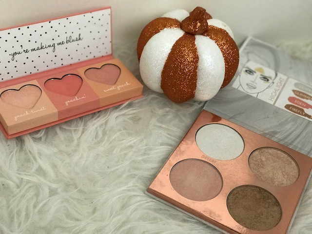 Primark ps sweet peach glow highlighting highlighter