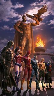 Justice League Team Mobile HD Wallpaper