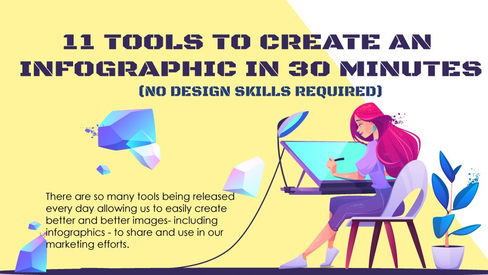 11 Tools to Create an Infographic in Just 30 Minutes #infographic