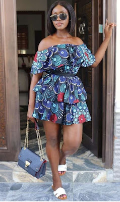 Linda Osifo Ankara Styles