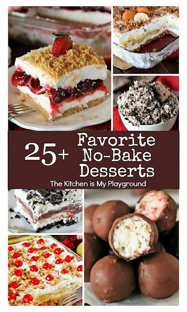25+ All-Time Favorite No-Bake Desserts Image