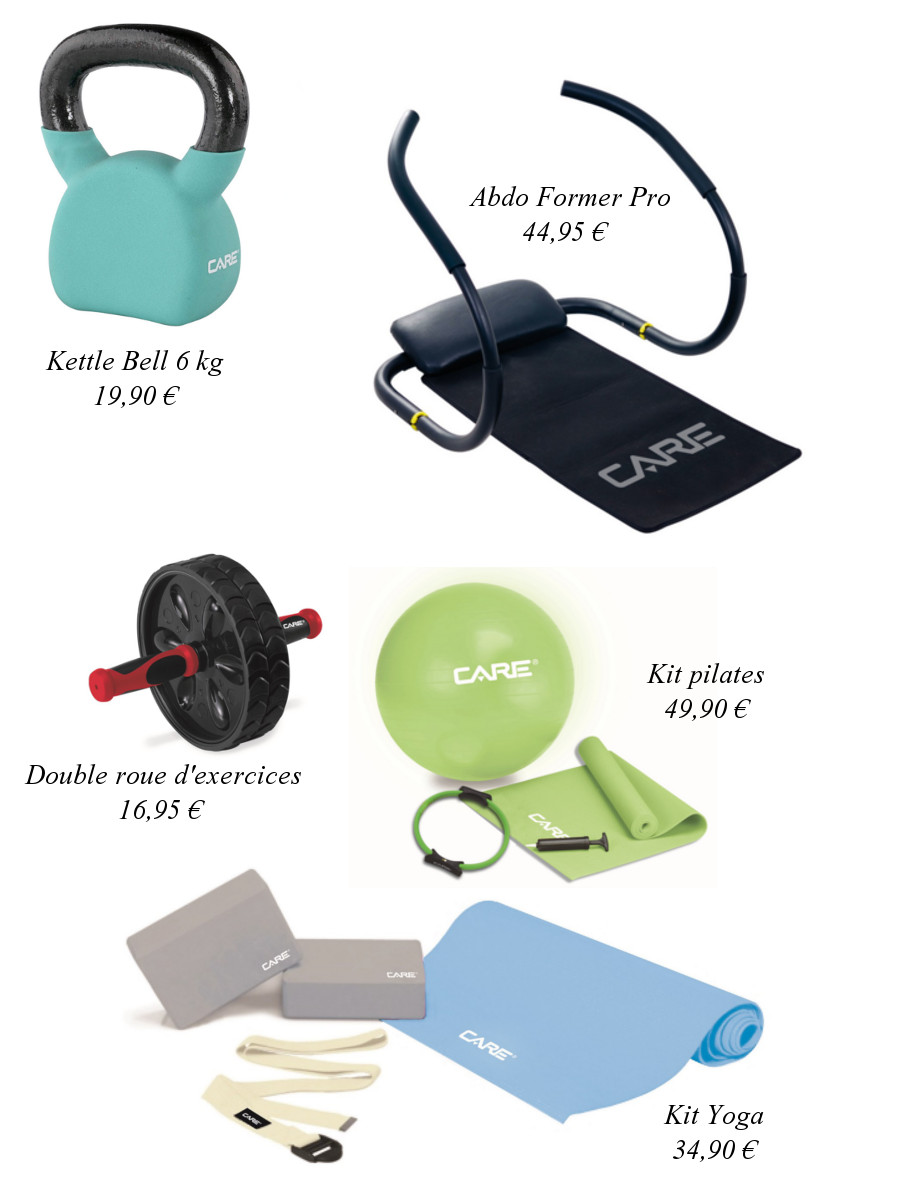 care-fitness, accessoires-care-fitness, accessoires-yoga, halteres-fitness, home-fitness, accessoires-home-fitness, kettle-bell, gym-ball, kit-yoga, kit-pilate, application-mycare, mycare, my-care, roue-d-exercice, roue-d'exercice, roue-musculation, abdo-former, machine-abdos