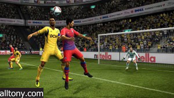 أفضل 10 ألعاب كرة قدم للأجهزة الضعيفة Pro Evolution Soccer