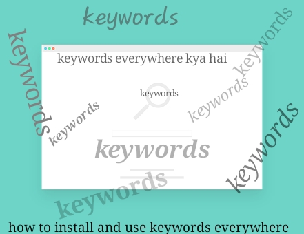 Keywords everywhere kya hai how to install and use keywords everywhere