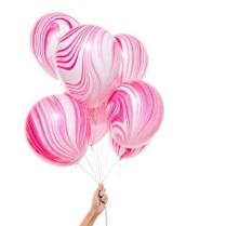 Balon Latex Motif Marble