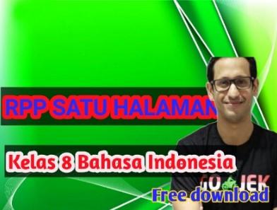 Download- rpp- 1- lembar- smp- bahasa –indonesia-  kelas- 8 -semester -1