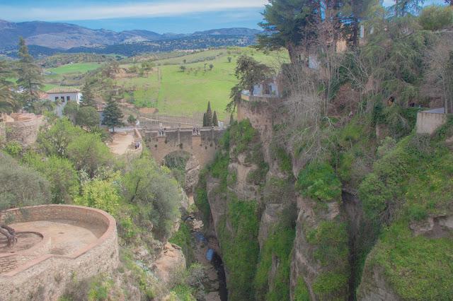 Puente Viejo, em Ronda, na Andaluzia, região sul da Espanha.