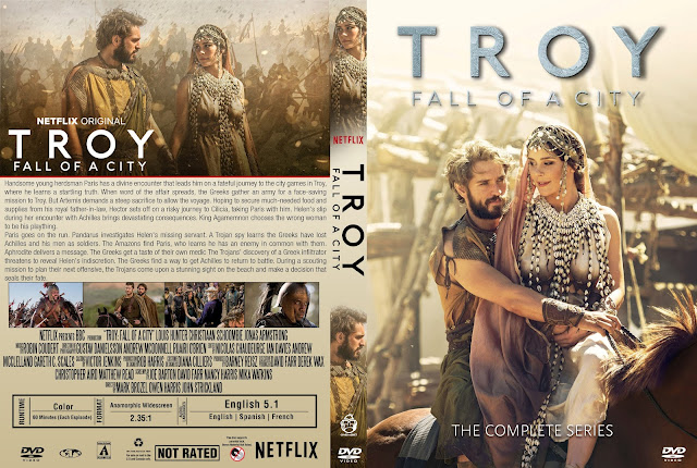 Troy Fall Of A City DVD Cover